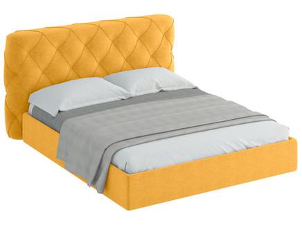 Кровать ember (ogogo) желтый 189x113x237 см.