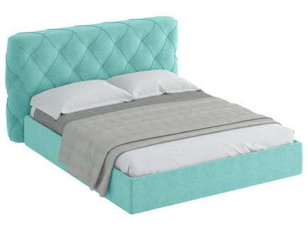 Кровать ember (ogogo) бирюзовый 189x113x237 см.