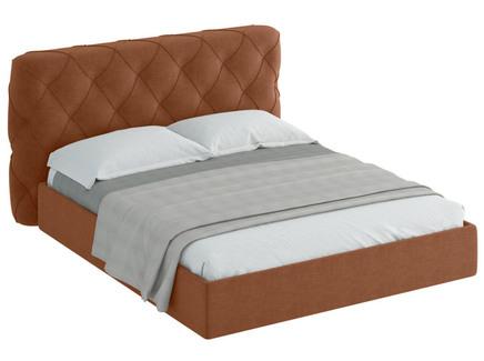 Кровать ember (ogogo) коричневый 209x113x237 см.