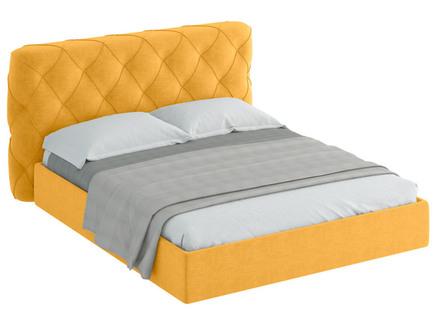 Кровать ember (ogogo) желтый 209x113x237 см.
