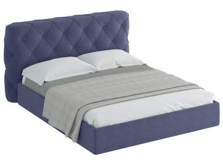 Кровать ember (ogogo) синий 189x113x237 см.