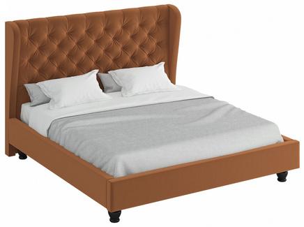 Кровать jazz (ogogo) коричневый 217x146x224 см.