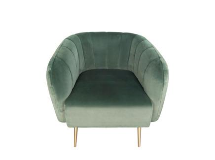 Кресло azaria (gramercy) зеленый 80.0x76.0x81.0 см.