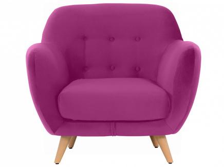 Кресло loa (ogogo) розовый 98x85x77 см.