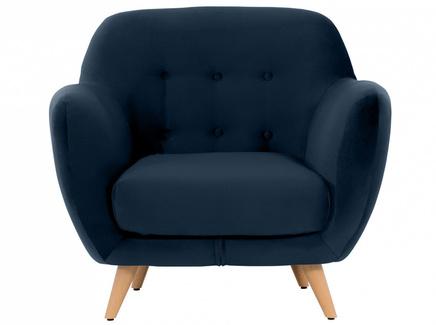 Кресло loa (ogogo) синий 98x85x77 см.