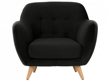 Кресло loa (ogogo) черный 98x85x77 см.
