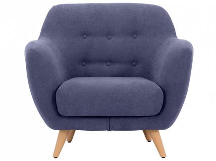 Кресло loa (ogogo) серый 98x85x77 см.