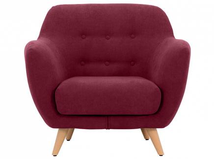 Кресло loa (ogogo) красный 98x85x77 см.