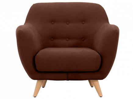 Кресло loa (ogogo) коричневый 98x85x77 см.