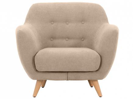Кресло loa (ogogo) бежевый 98x85x77 см.