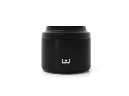 Контейнер для еды мb element s (monbento) черный 7.0 см.