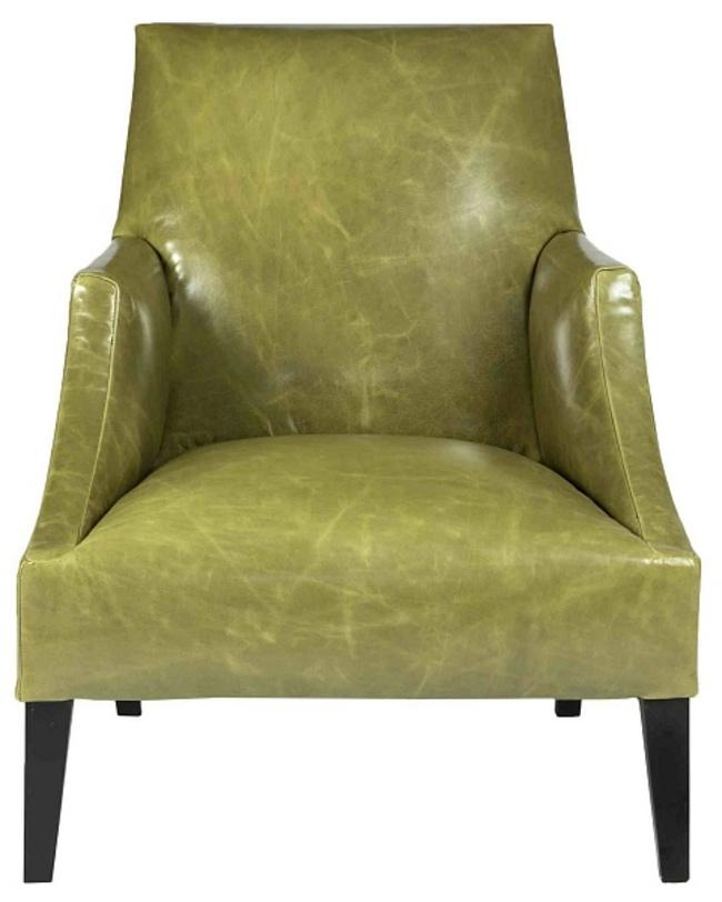 Кресло Gold coast chairКожаные кресла<br>Мягкое кожаное кресло с широким сиденьем и глубокой посадкой. Кресло привлекает внимание не только оригинальным силуэтом, но и необычным оттенком зеленого цвета. Оно подойдет для оформления офиса или квартиры в современном стиле, например, в стиле лофт.<br><br>Material: Кожа<br>Length см: None<br>Width см: 77<br>Depth см: 88<br>Height см: 86