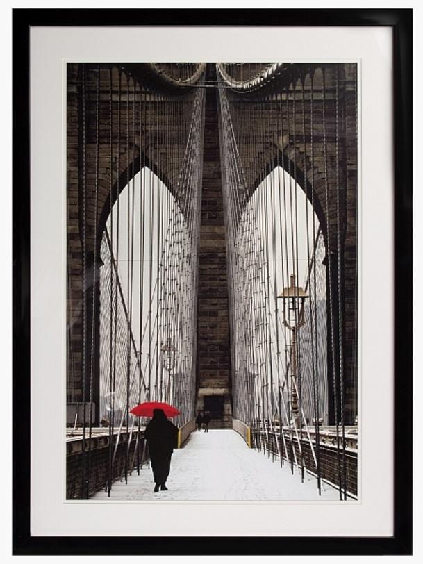 Постер Brooklyn BridgeПостеры<br><br><br>Material: Бумага<br>Width см: 82<br>Depth см: 3<br>Height см: 112