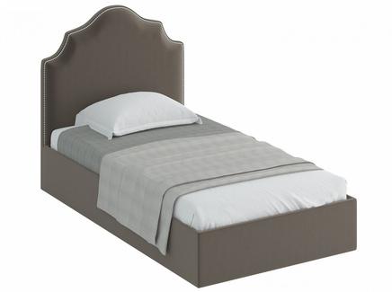 Кровать princess (ogogo) серый 130x130x216 см.