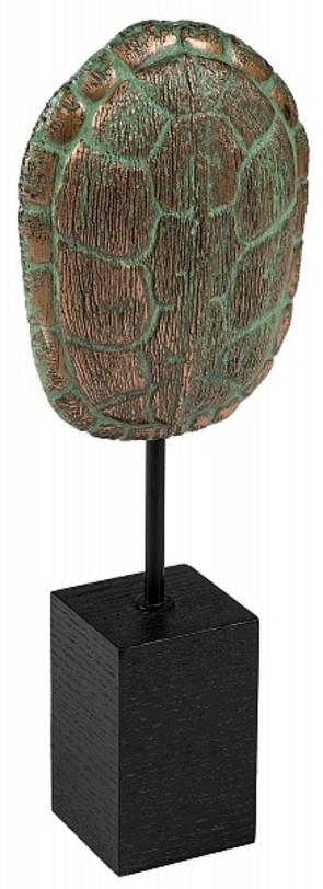Декор Tortoiseshell StandСтатуэтки<br>Материал: бронза; МДФ<br><br>Material: Бронза<br>Ширина см: 33<br>Высота см: 72<br>Глубина см: 16