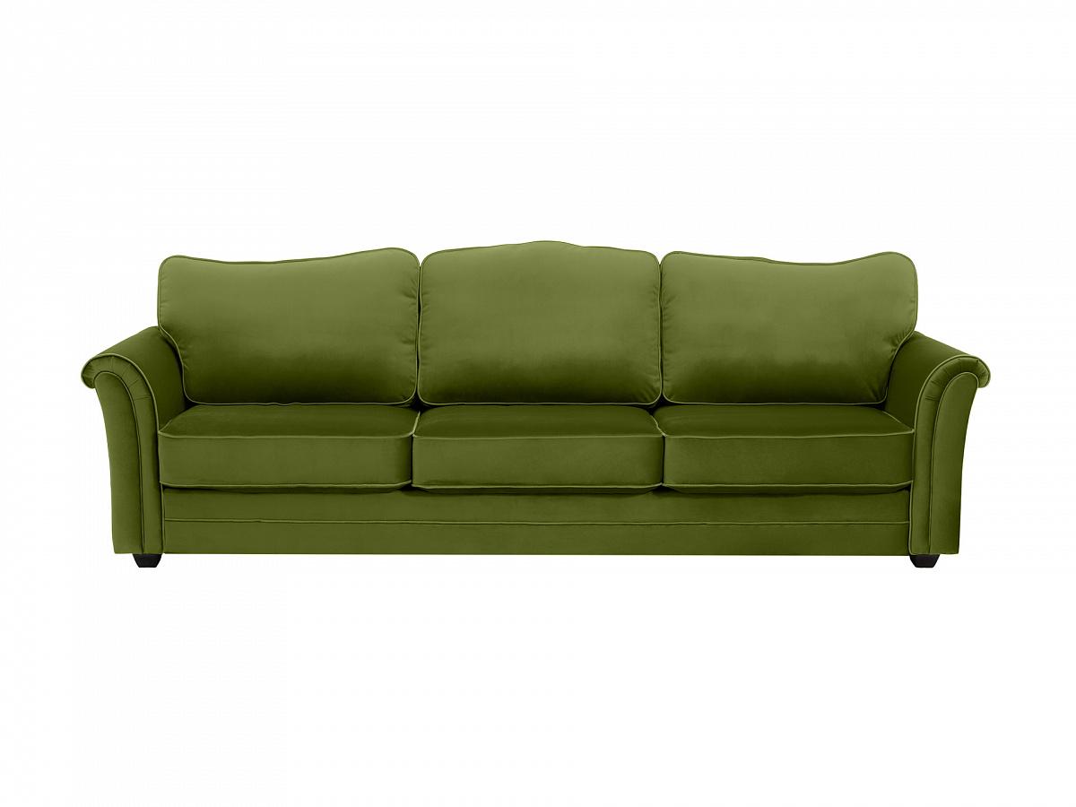Ogogo диван трехместный sydney зеленый 112624/5