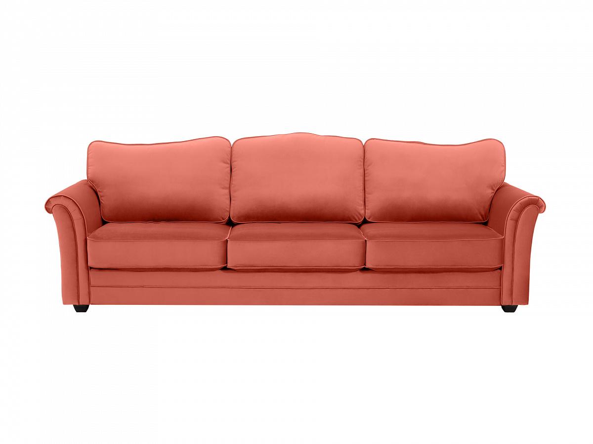 Ogogo диван трехместный sydney розовый 112625/4