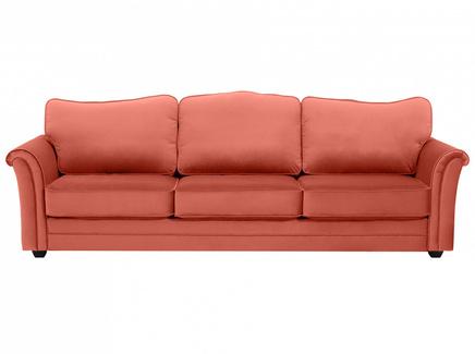 Диван трехместный sydney (ogogo) розовый 283x97x103 см.