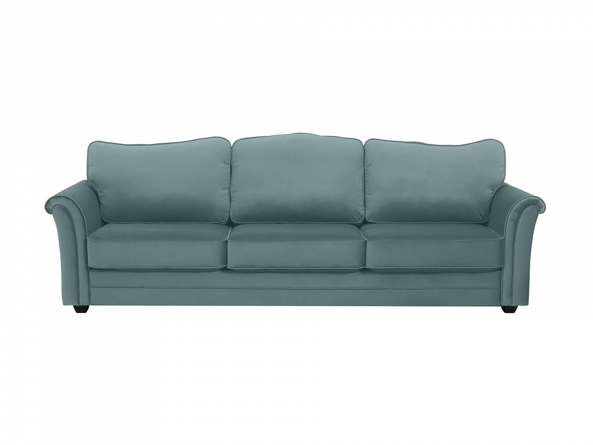 Ogogo диван трехместный sydney зеленый 112626/3