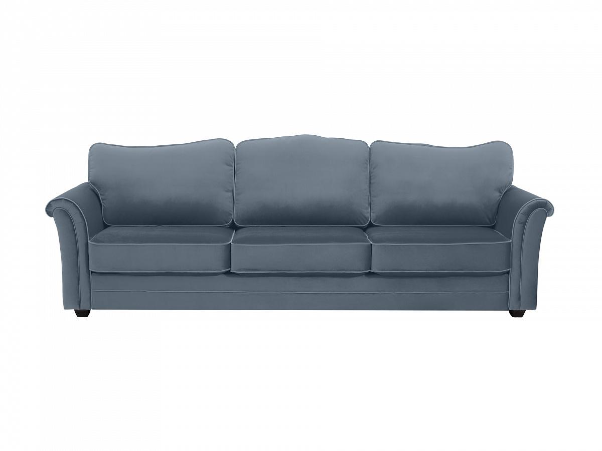 Ogogo диван трехместный sydney серый 112630/7