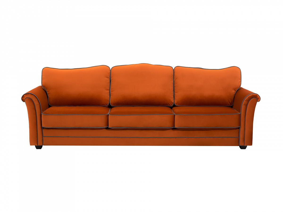 Ogogo диван трехместный sydney коричневый 112631/7