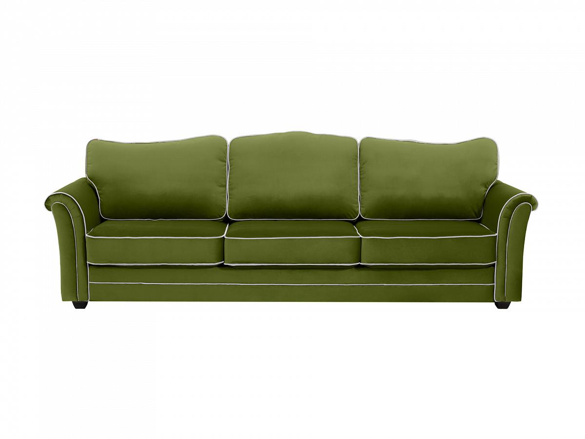 Ogogo диван трехместный sydney зеленый 112633/4