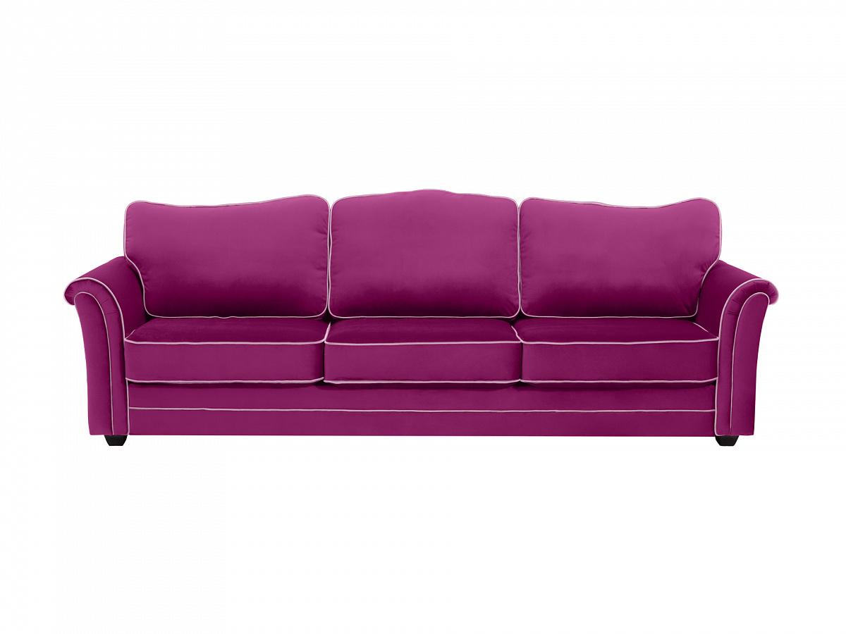 Ogogo диван трехместный sydney фиолетовый 112635/4