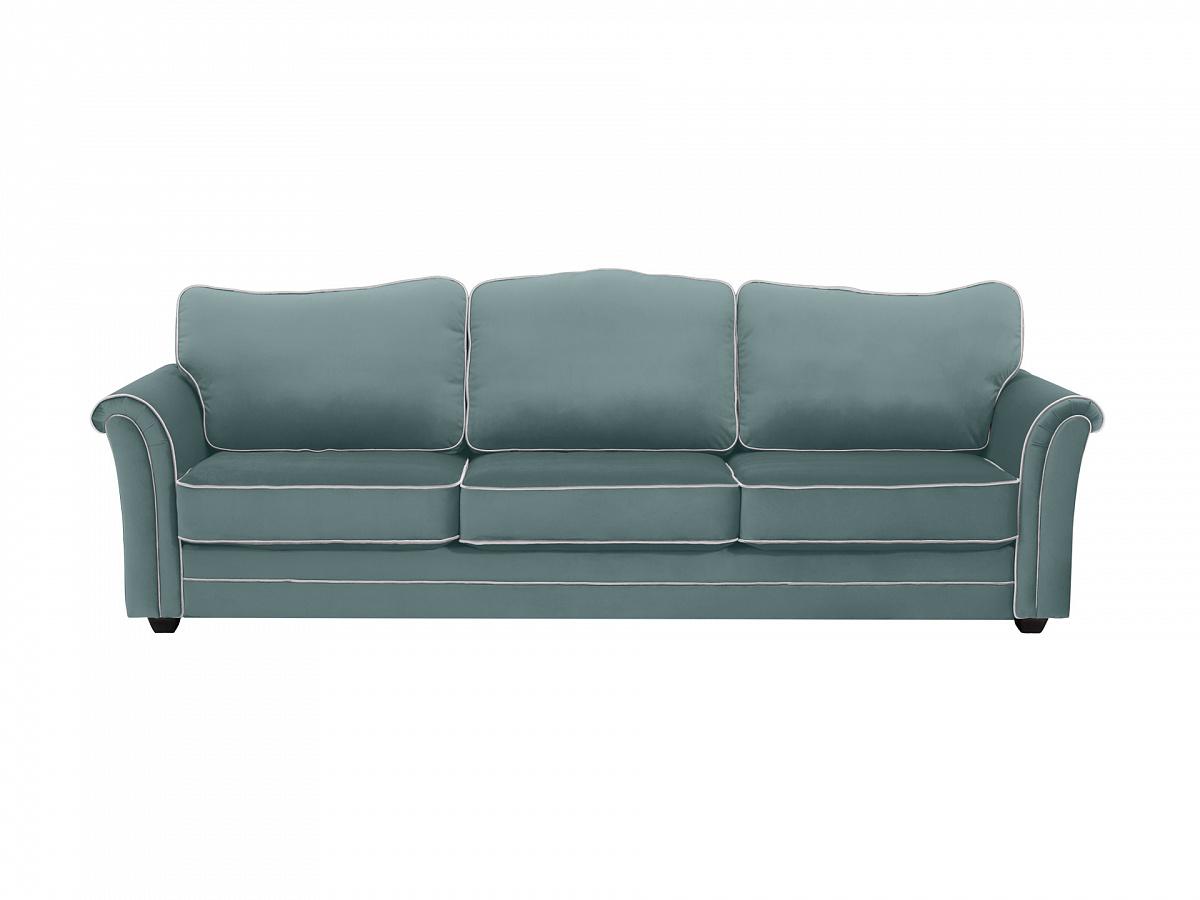 Ogogo диван трехместный sydney зеленый 112636/1