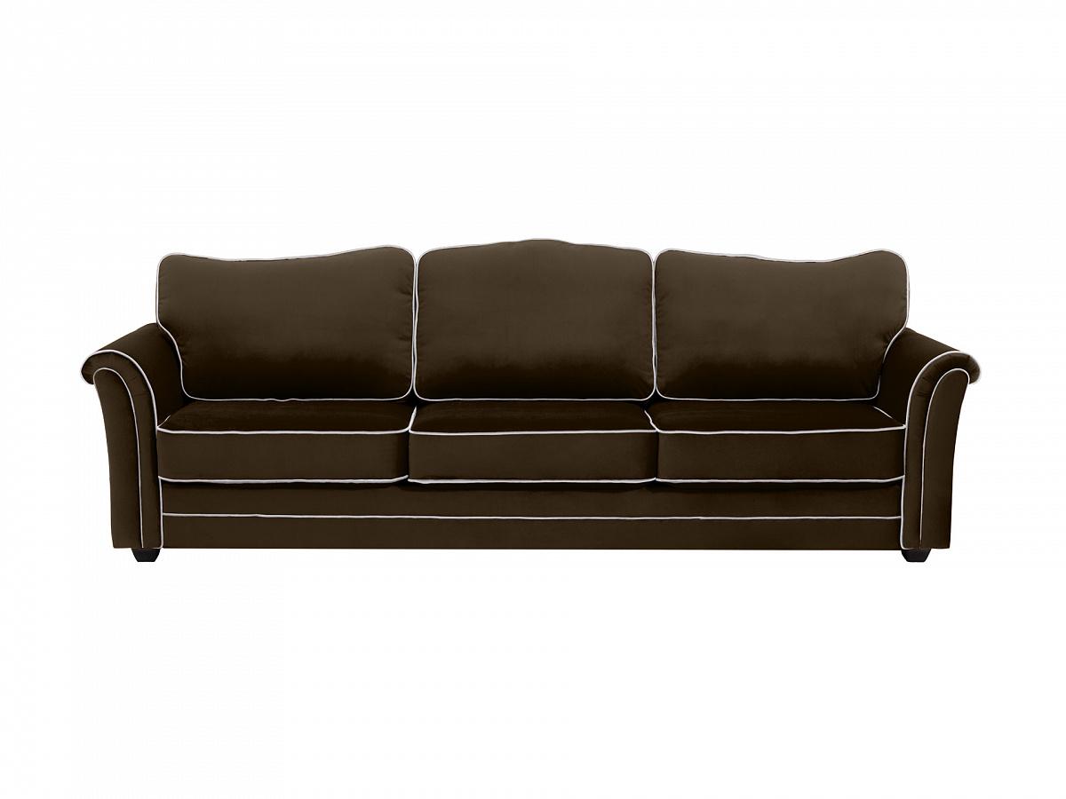 Ogogo диван трехместный sydney черный 112638/9