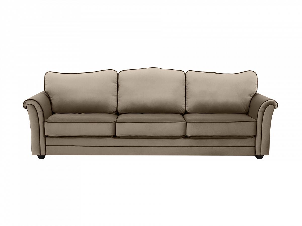 Ogogo диван трехместный sydney серый 112639/9