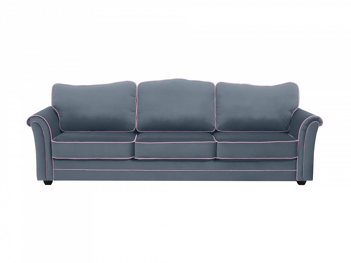 Ogogo диван трехместный sydney серый 112641/3