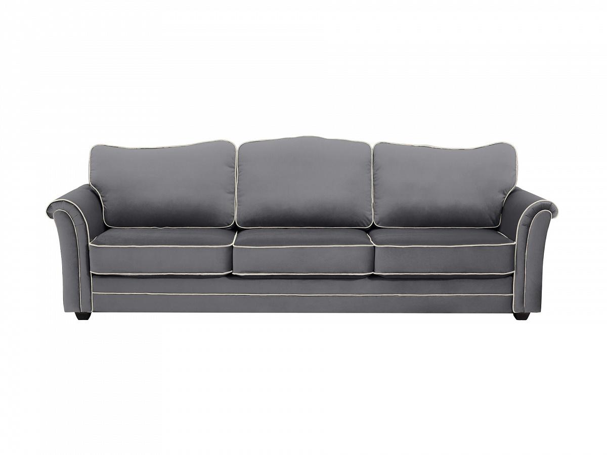 Ogogo диван трехместный sydney серый 112644/2