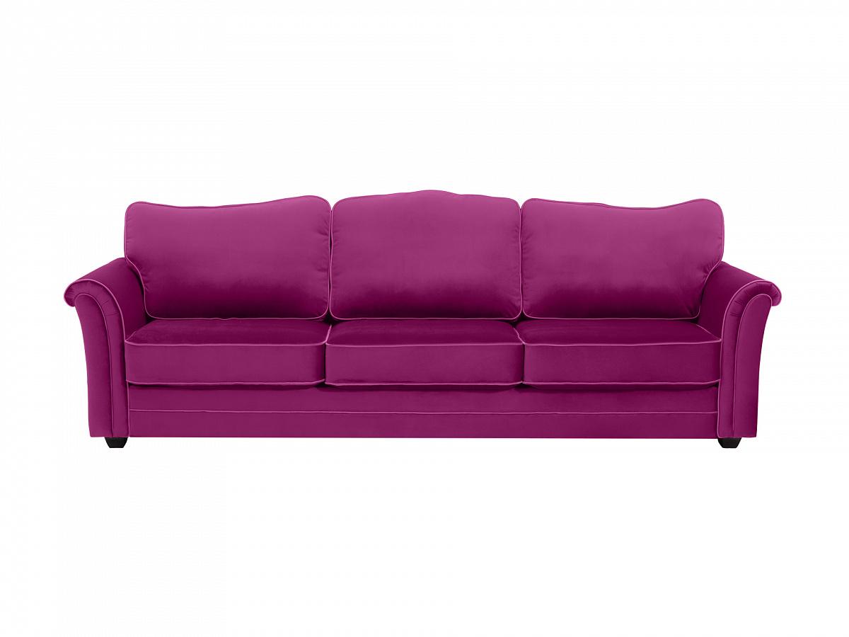 Ogogo диван трехместный sydney фиолетовый 112646/2
