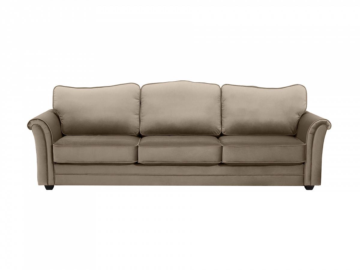 Ogogo диван трехместный sydney серый 112649/9