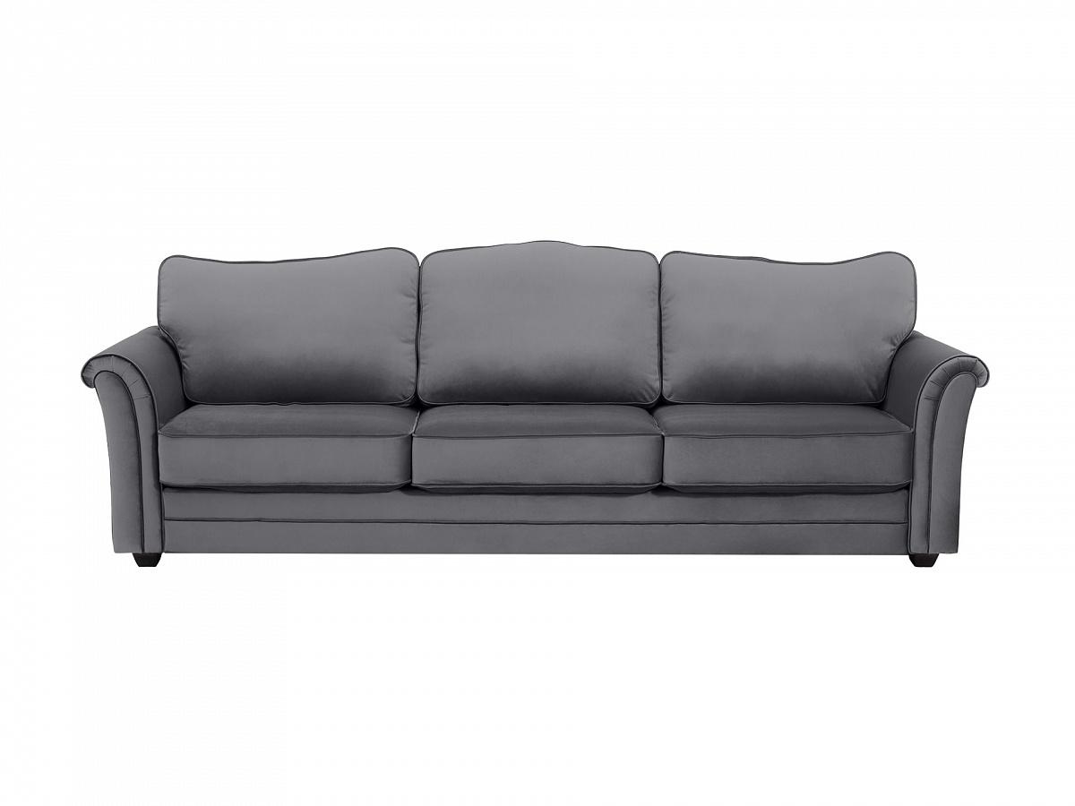 Ogogo диван трехместный sydney серый 112650/2