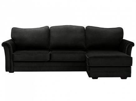 Диван sydney (ogogo) черный 283x97x173 см.
