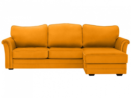 Диван sydney (ogogo) желтый 283x97x173 см.