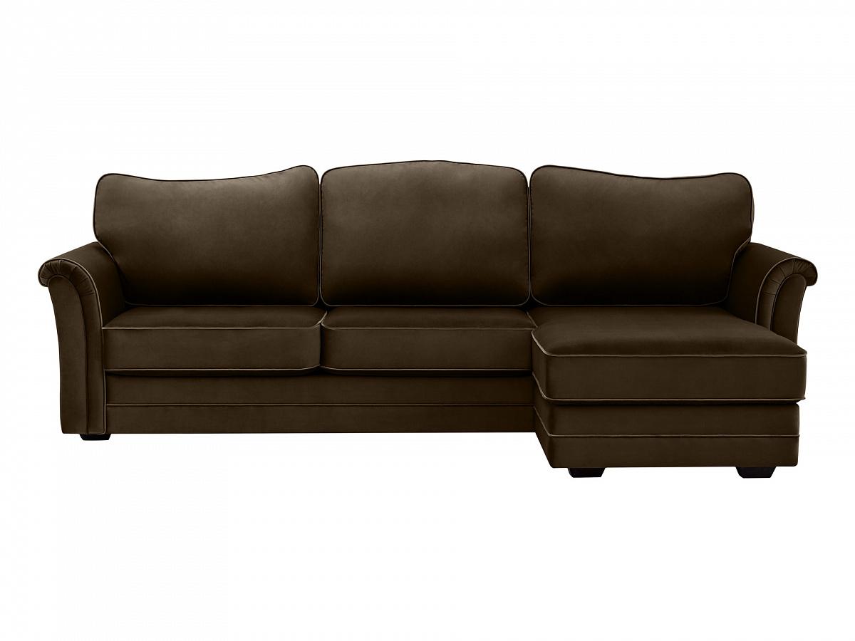 Ogogo диван sydney коричневый 112703/2