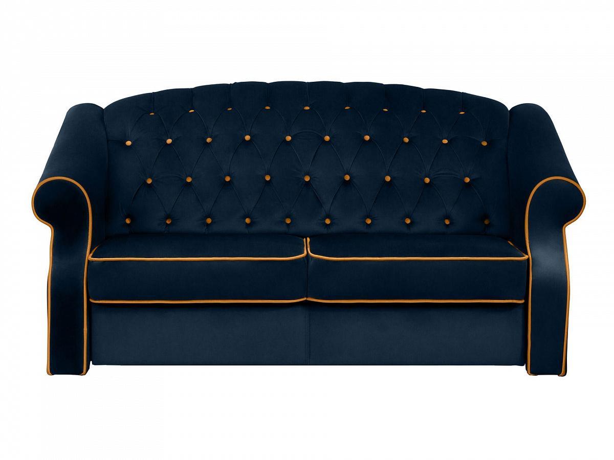 Ogogo диван boston синий 112717/3