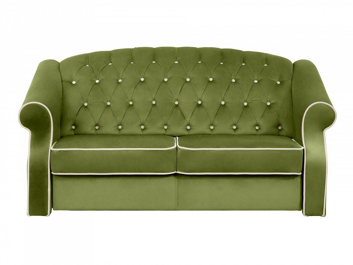 Ogogo диван boston зеленый 112720/6