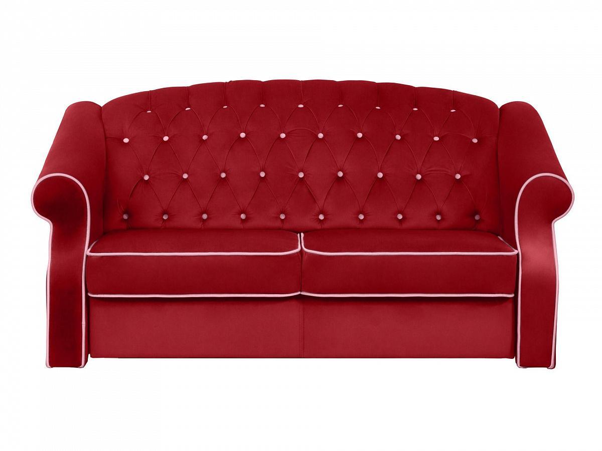Ogogo диван boston красный 112721/9