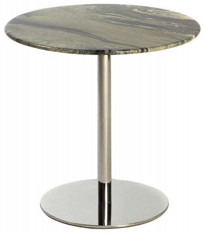 Стол WindyКофейные столики<br>Маткриал: полированная сталь; мрамор<br><br>Material: Мрамор<br>Height см: 58<br>Diameter см: 58