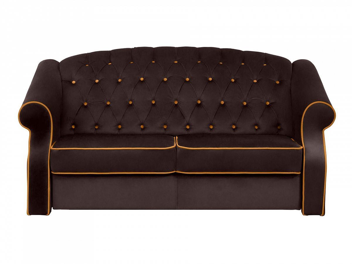 Ogogo диван boston черный 112724/7
