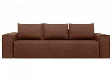 Диван bui (ogogo) коричневый 260x72x105 см.