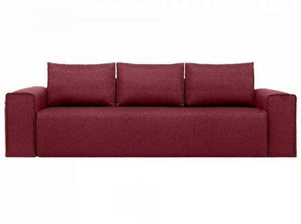 Диван bui (ogogo) красный 260x72x105 см.