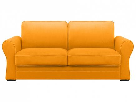 Диван belgian (ogogo) желтый 205x90x105 см.