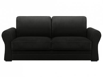 Диван belgian (ogogo) черный 205x90x105 см.