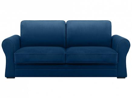 Диван belgian (ogogo) синий 205x90x105 см.
