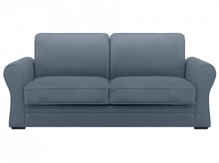 Диван belgian (ogogo) серый 205x90x105 см.