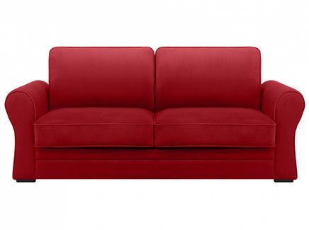 Диван belgian (ogogo) красный 205x90x105 см.